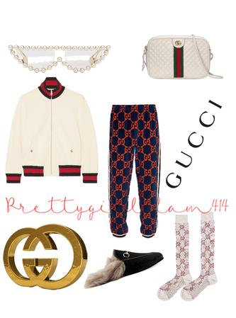 Gucci'd down