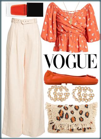 Orange holiday style