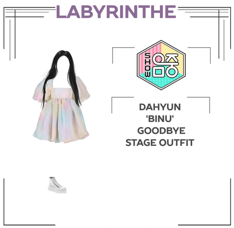 Dahyun 'binu' goodbye stage