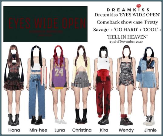 DREAMKISS [Eyes Wide Open] comeback showcase