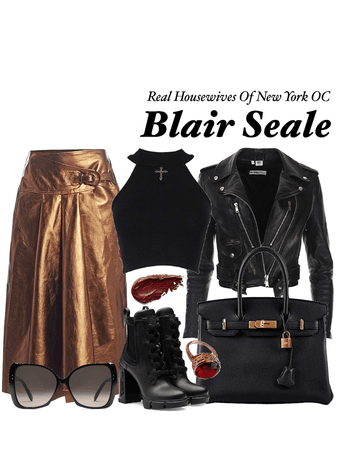REAL HOUSEWIVES OF NEW YORK OC: Blaire Seale