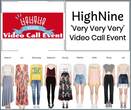 HighNine (하이 나인) 'Very Very Very' Video Call Event