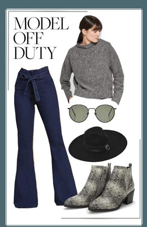 Model booty off duty