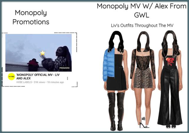 알렉스 (Olivia) Monopoly Official MV
