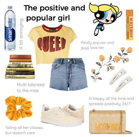 The positive and popular girl
