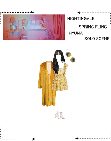 NIGHTINGALE - SPRING FLING HYUNA