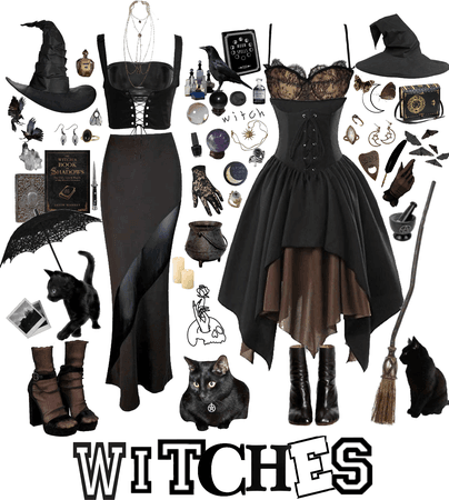 witches 🖤🧙🏻♀️🌙