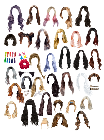 More hair I found + accessories