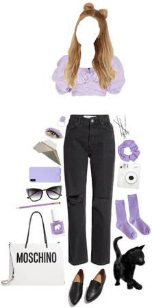 lavender puff