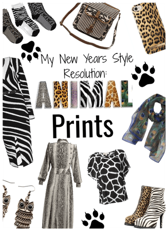 New years style resolution: Add Animal Prints!