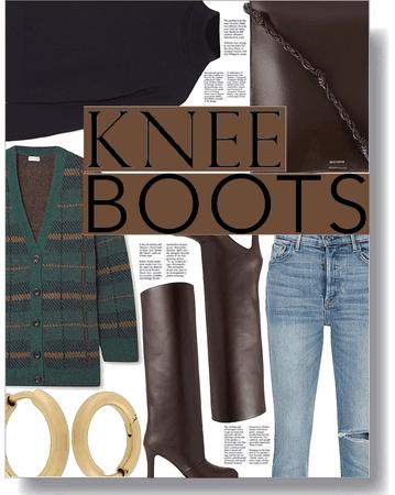 knee boot trend 🤎