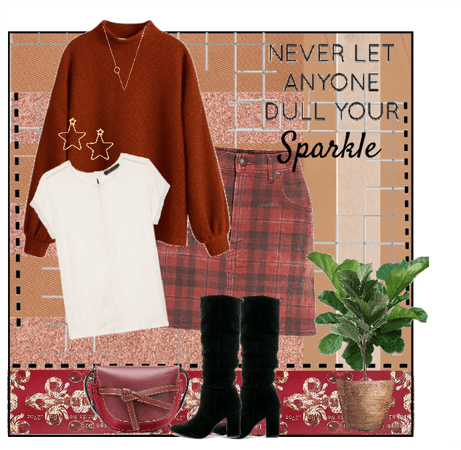 Never Let Anyone Dull Ypur Sparkle
