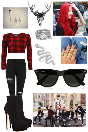 Jina's War of Hormone Outfit