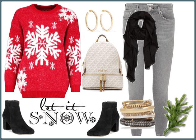 Christmas school wear