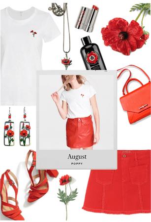 August Poppy