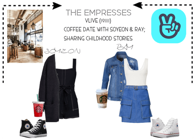 [THE EMPRESSES] COFFEE DATE- CHILDHOOD STORIES