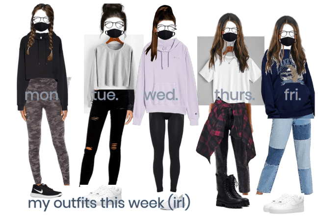 this weeks outfits (nov 9-13)