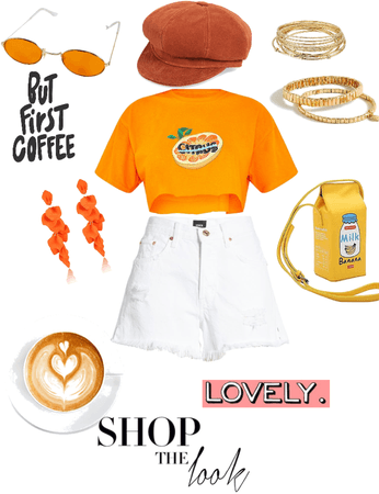 I did orange 😜