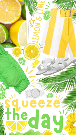 🍋💚Squeeze The Day! 💚🍋