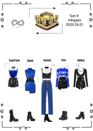 INFINITY (무한대) - 'Get It' Inkigayo Stage