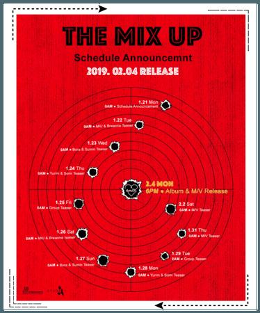 《6mix》Comeback Schedule