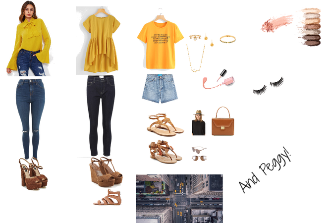 And Peggy Inspired outfits