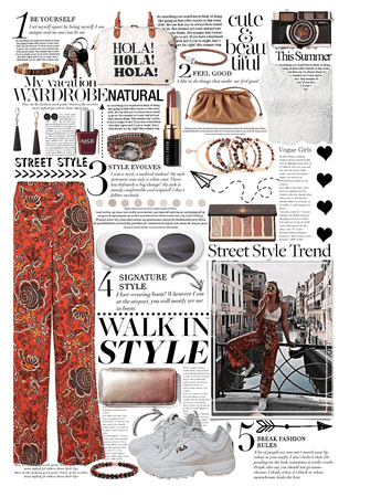 street style ~ palazzo pants ❤️