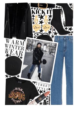 Warm Winter Street Style