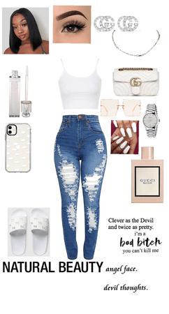 white on white☁️🤍