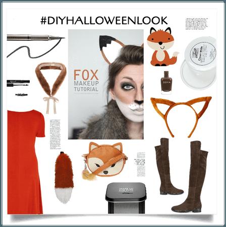 #DIY HALLOWEEN LOOK A FOX