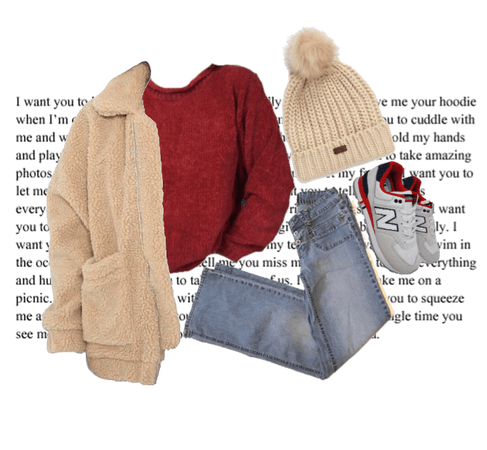 beanie winter outfit