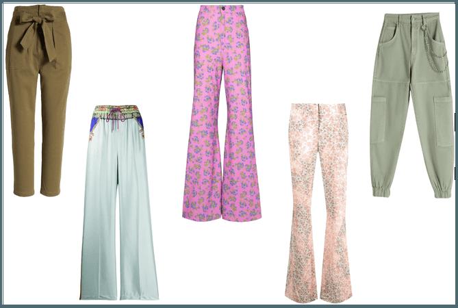 pantalones para cuerpo triangulo invertido