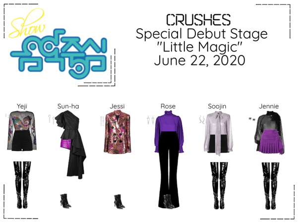 """Crushes (호감) """"Little Magic"""" Special Debut Stage"""