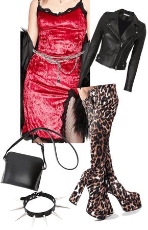 Grunge Glam Leopard