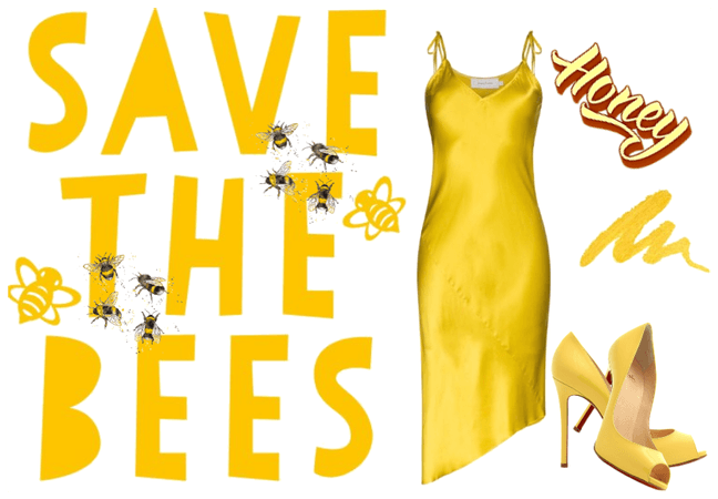 save the mother fuckin bees