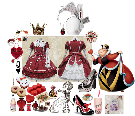 Queen of hearts maid cafe