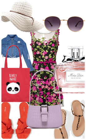 pretty miss spring outfit