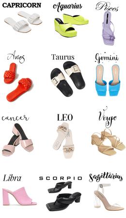 zodiac spring/ summer shoes