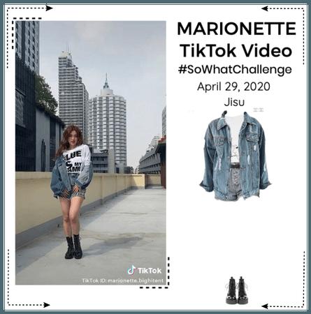 MARIONETTE (마리오네트) [JISU] TikTok Challenge