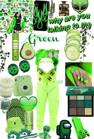 green green green 💚🤑🐸🥑