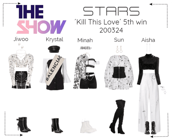 STARS | The Show Stage | Kill This Love 5th win