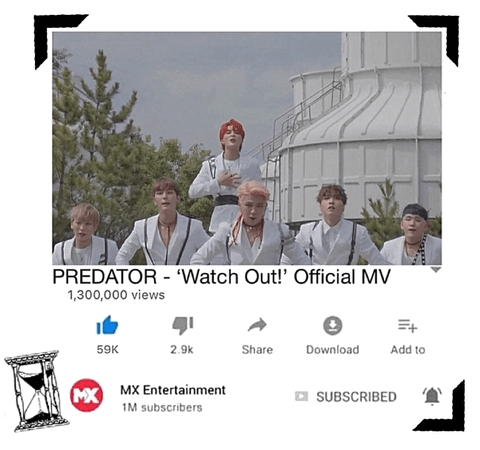 PREDATOR//'Watch Out!' Official MV