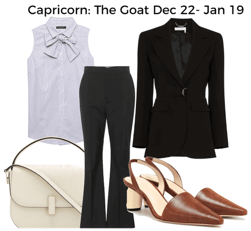 Capricorn: The Goat Dec 22 - Jan 19