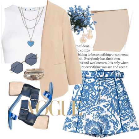 Naturel Style with blue