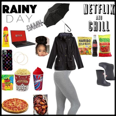 Netflix and chill day / rainy night