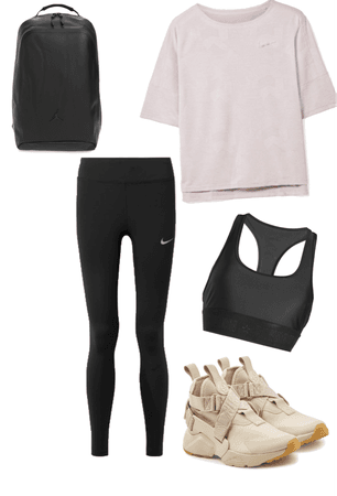 Nike inspired workout