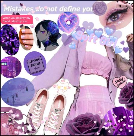 """""""When a Spite of Purple Burst"""" (Sarah's Fit)"""