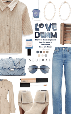 denim and neutrals