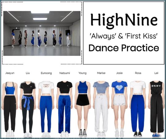 "HighNine (하이 나인) ""Always"" Dance Practice"