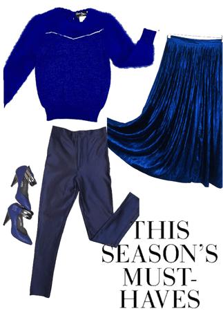 Winter 2018 Electric Blue